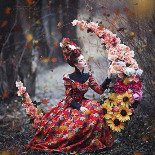 Photographer Brings Russian Fairy Tales to Life in Artistic Portraits
