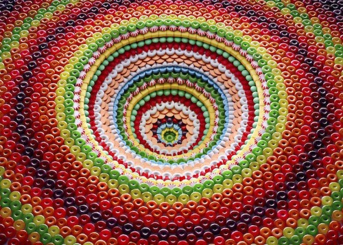 Ordinary Foods Get Rearranged Into Psychedelic Pits and Pyramids