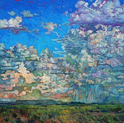 Colorful Open-Impressionism Paintings Capture the Beauty of Wine Country