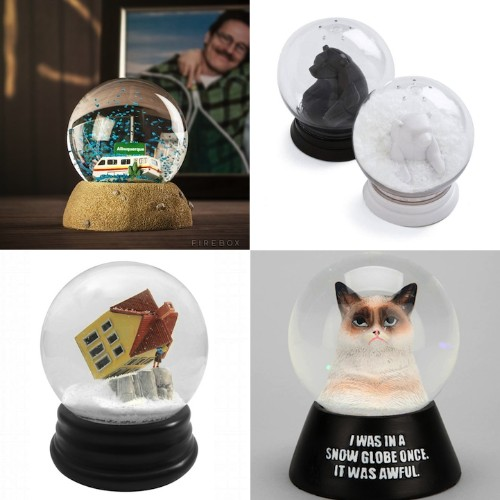 5 Amusing Snow Globes That Will Make You Look Twice