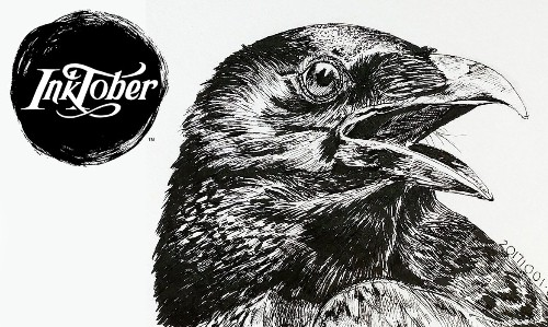 'Inktober': The Worldwide Art Challenge That Has Everyone Drawing in October