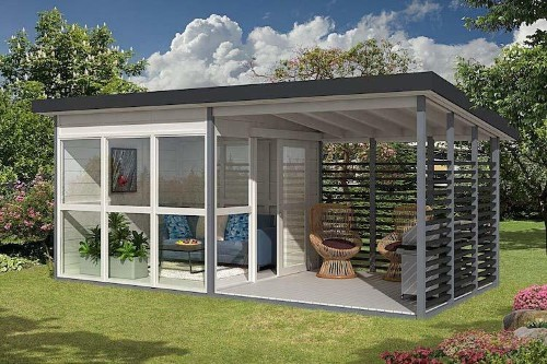 """Amazon Is Selling a DIY """"Garden House"""" You Can Build in Just 8 Hours"""
