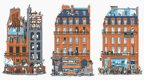 750 Years in Paris Illustrates the Historical Transformation of the City