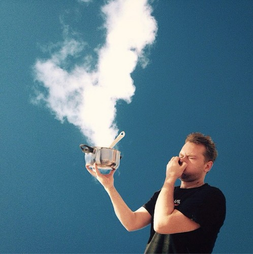 Imaginative Photo Series Features Clever Interactions Between People and Clouds
