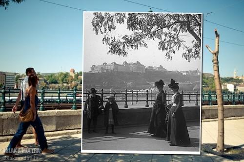 Photographer Overlays Photos, Creates a Window to the Past