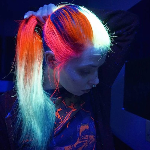 Glow-In-The-Dark Hair Is the Latest Fun Hair Trend to Light Up Your Life