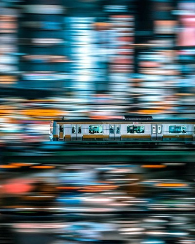 Vibrant Photos Capture the Electric Energy of Tokyo at Night