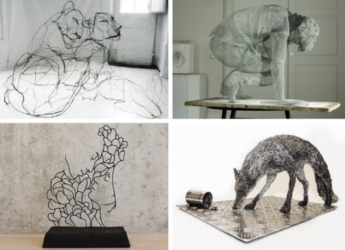 25+ Awe-Inspiring Wire Sculptures That Elevate the Art