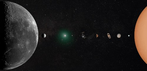 Astrophotographer Creates Photo of Solar System from His Backyard