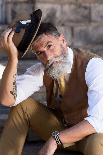 60-Year-Old Man Fulfills Lifelong Modeling Dream with Help From Reddit