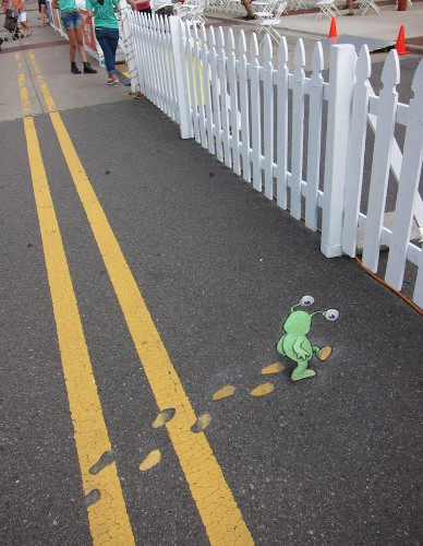 Delightful Illustrations of Quirky Characters on the Streets of Ann Arbor
