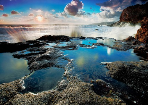 Dramatic Landscapes Illustrate the Radiance of Nature