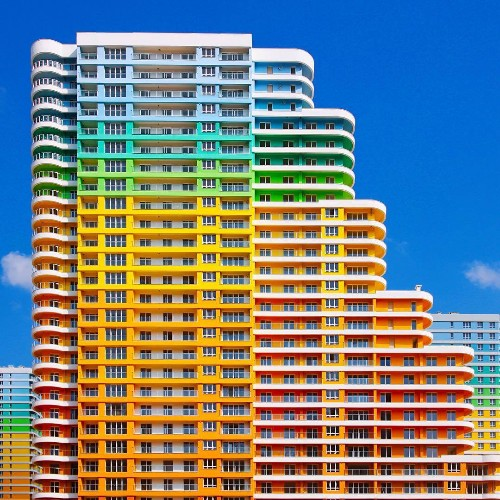 Photographer Explores the Rainbow-Colored Neighborhoods of Istanbul