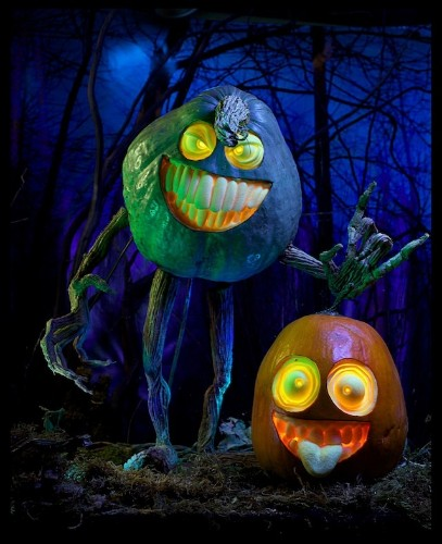Awesome 3D Pumpkins Made With Easy Plugs