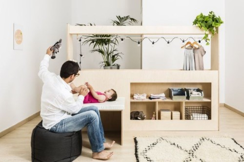 Ingenious Adjustable Cribs and Beds Grow as Children Do