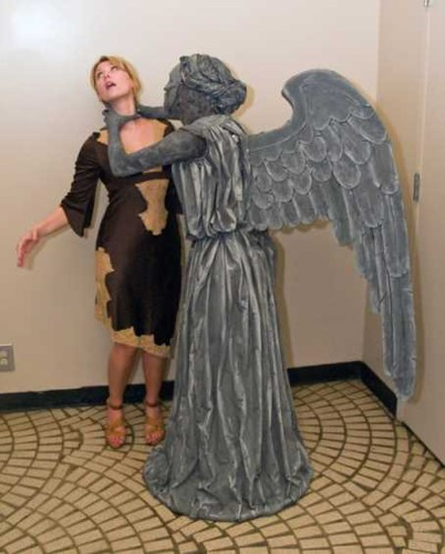 Stone Angel Statue Illusion (14 pics)