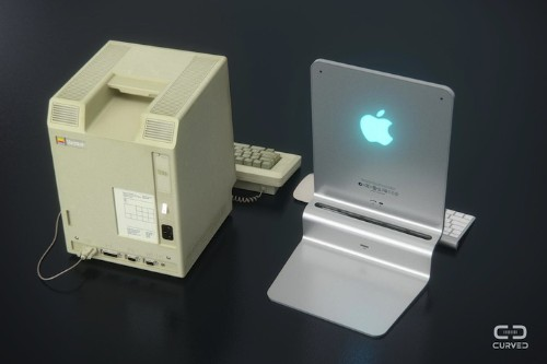 "Sleek ""Mac 2015"" Computer Modeled After Apple's First Macintosh 128k Desktop"