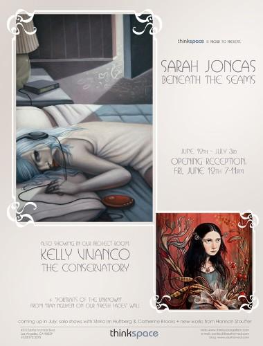 Distressed Beauty – Artist Sarah Jonkas (10 Paintings)