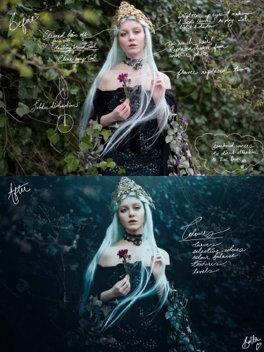 Behind the Lens: Bella Kotak Creates a Fairytale World Through Breathtaking Nature-Inspired Portraits