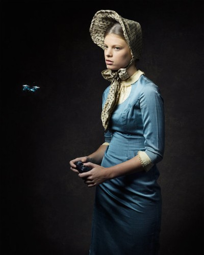 Photographer Reimagines 19th-Century People with Modern Technology