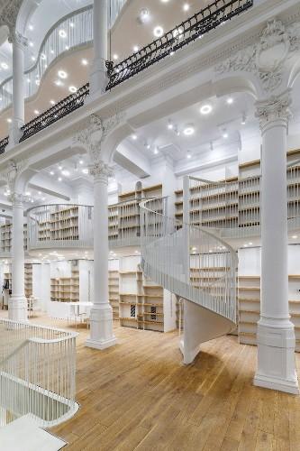 Magnificent Bookstore in Romania Showcases Stunning 19th-Century Architecture