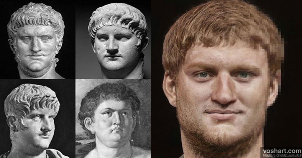 Artist Combines Artifacts With AI To Create Realistic Portraits of Roman Emperors