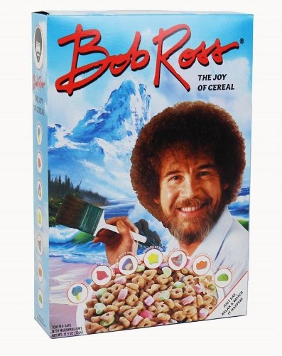 This Bob Ross Cereal Is a Happy Little Breakfast with an Inspiring Message