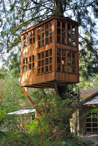 Charming Treehouses are Unique Getaway Near Seattle
