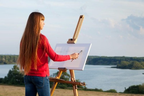 "Here's Everything You'll Need to Start Painting ""en Plein Air"" This Spring"
