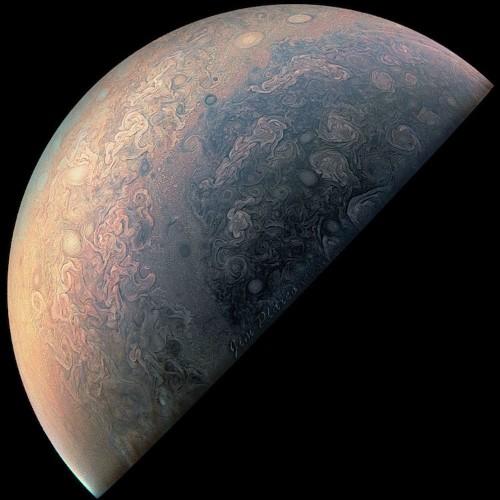 Junocam Sends Back Incredible Images from Planet Jupiter