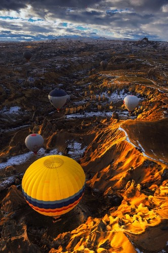 Soar Over Surreal Turkey in a Hot Air Balloon