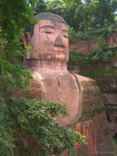 World's Largest Buddha Statue Carved into a Cliff