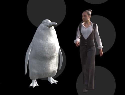 Paleontólgos descubren un pingüino gigante de la prehistoria