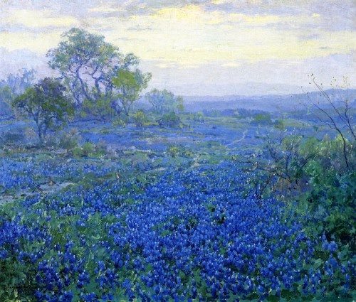 Breathtaking Impressionist Paintings of Bluebonnets by Julian Onderdonk