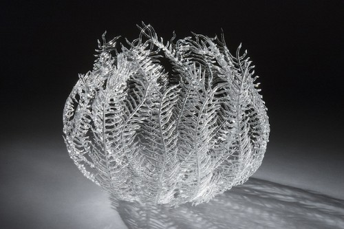 Interview: Artist Uses Fire to Shape Delicate Glass Sculptures Inspired by Sea Life Forms