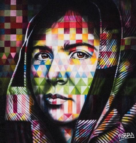 "Colorful Solo Show Titled ""Peace"" by Eduardo Kobra"