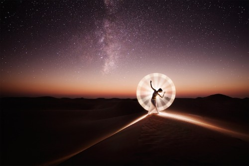 Portraits of Dancers and Acrobats Creating Hypnotic Light Patterns Around the World