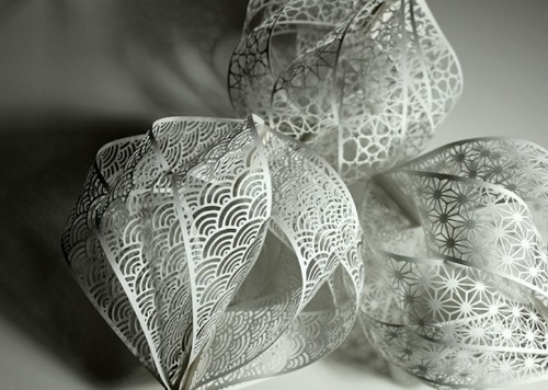 Gorgeously Intricate Hand-Cut Paper Sculptures