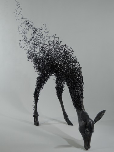 Surreal Sculptures of Disintegrating Animals