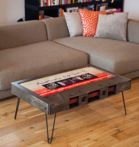 Quirky Cassette Tape Coffee Tables Add a Touch of Nostalgia to Any Room