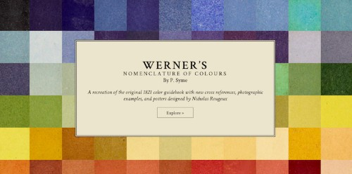19th Century Color Guide Gets Turned Into Online Resource for Designers