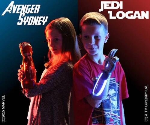 Popular Superhero-Themed Bionic Arms Made for Children