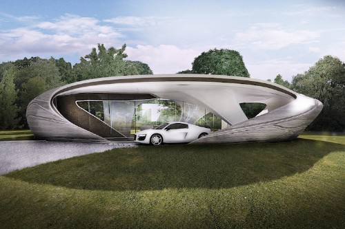 Sophisticated 3D-Printed House Is First of Its Kind