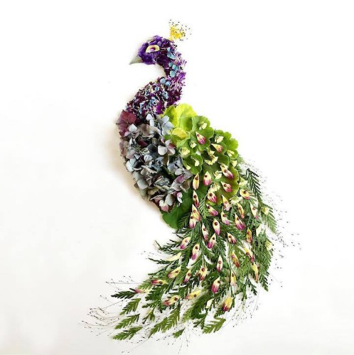 Botanical Artist Uses Foraged Materials to Create Organic Works of Art