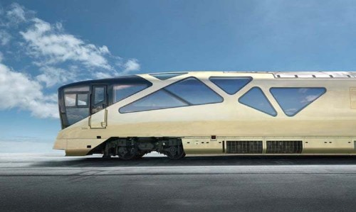 Japan's Ferrari-Design Luxury Train Takes Travel to New Levels of Opulence