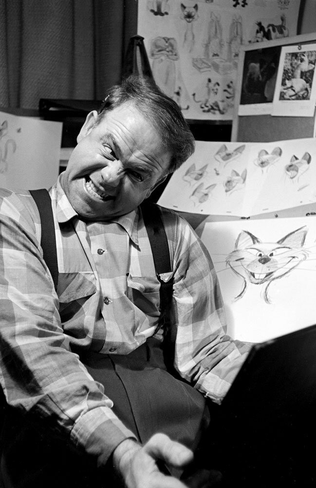 Disney Animators Study Their Reflections in Mirrors to Draw Classic Characters' Facial Expressions
