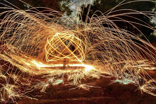 20+ Examples of Steel Wool Photography That Beautifully Play with Fire