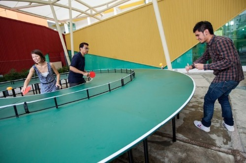 Ping-Pong Completely Reimagined with Playful Round Table