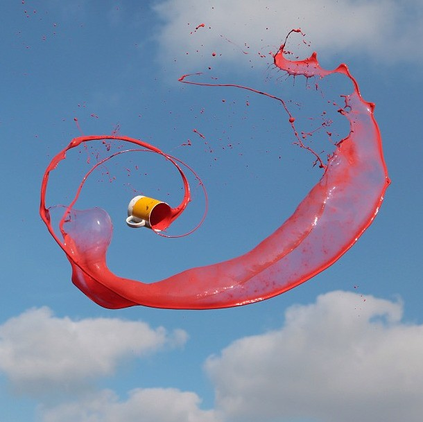 Motion Photographer Captures Liquids Flying in Mid-Air