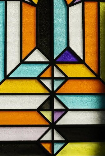 Origami Artist Creates Stained Glass Art Out of Sugar and Watercolor